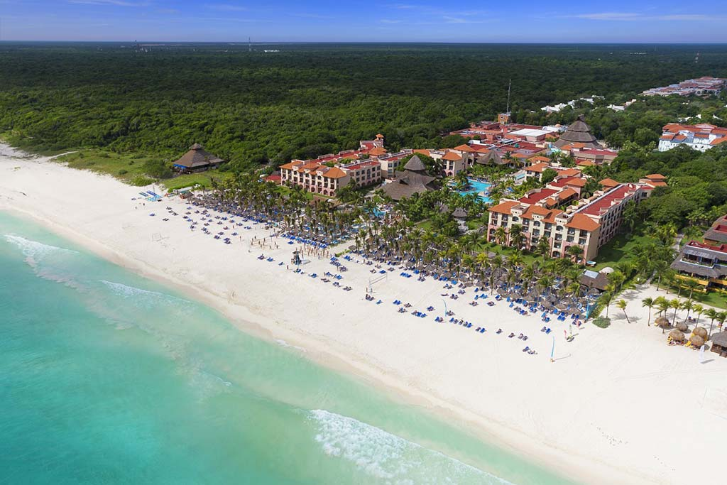 Sandos Playacar Beach Resort Spa All Inclusive Cancun Mexico